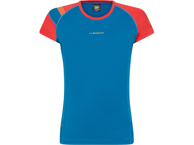 La Sportiva Move T-Shirt Femme, neptune/hibiscus